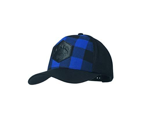 Buff Cap Trucker, Plaid Cape Blue, One Size, 117903.715.10.00