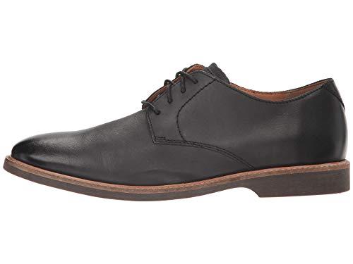 Clarks Men's Atticus Lace Oxford, Black Leather, 9