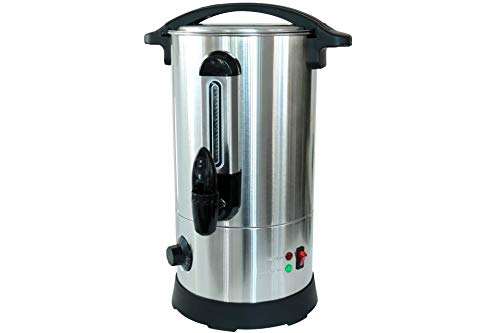 Deski Glühweintopf 8 Liter 1800 Watt Edelstahl Heißgetränke