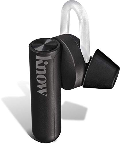 KNOW - Comfy Truly Wireless Earbuds - Bluetooth Earbuds Wireless - Wireless Earphones - Earbuds Wireless Headphones - Bluetooth Earphones - Earphones Bluetooth Wireless Earbuds for Running - Black
