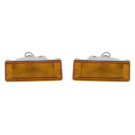 For Mitsubishi Pickup 1987-1996For Dodge Ram-50 Pickup 1987-1993 Signal Light Assembly Pair Driver and Passenger Side MI2530101 MI2531101