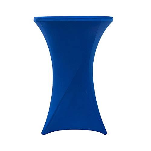PUDDINGHH® Stehtischhusse Tischhusse Husse Für Stehtisch Bistrotisch Tisch 2 Verschiedene Größen - Blau,80 * 110cm,2Pack