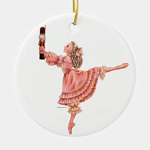 None-Brands Christmas Ornaments,The Nutcracker Ballet Keepsake Ornament with Clara Xmas Gifts Presents, Holiday Tree Decoration Stocking Stuffer Gift