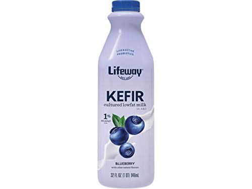Lifeway Probiotic Low Fat Blueberry Kefir, 32 Ounce -- 6 per case.