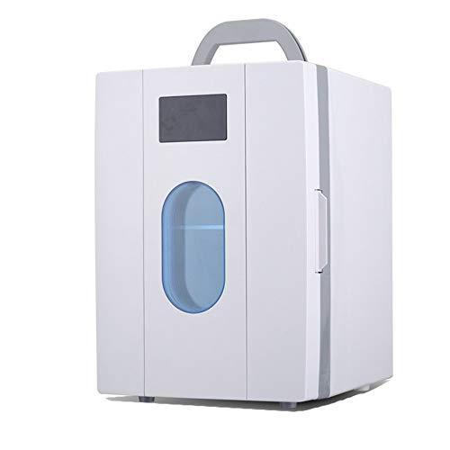 JOMSK Eléctrica Enfriador y Calentador de Coches Frigorífico de Viaje por Carretera, portátil Mini refrigerador, un Funcionamiento silencioso y más frío Refrigerador Electrico