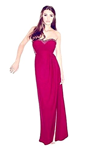 Lipsy Damen Cocktail Kleid Rosa purple pink Gr. UK 10, Rosa - purple pink