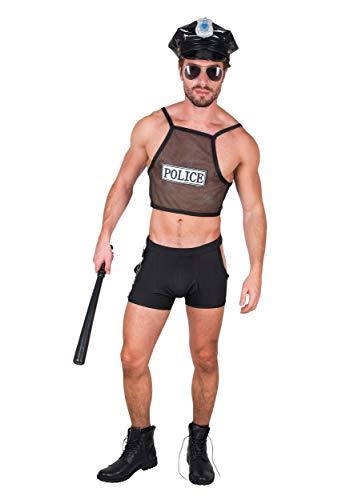 Generique - Disfraz de policia Sexy Hombre - L