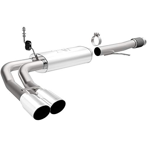 MagnaFlow 15270 Performance Cat-Back Exhaust System for Chevy Silverado Crew/Extended Cab V8...