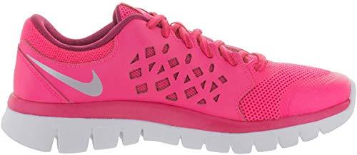 Nike Flex 2015 Run (Gs), Unisex-Kinder Multisport-Hallenschuhe, - Pnk Pw Mtllc Slvr Brght Ctrs - Größe: 36.5 EU
