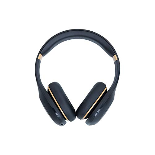 Mi **** Bass Wireless Headphones with Super Powerful bass, up to 20hrs Battery Life, Bluetooth 5.0 (Black and Gold)