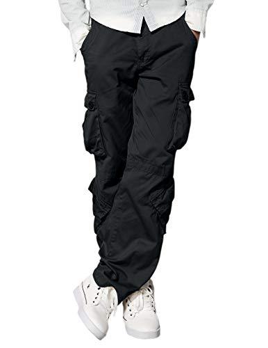 Match Men's Wild Cargo Pants(Dark Gray,30)