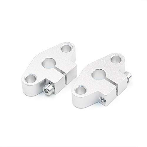 4pcs SHF8 horizontal linear shaft support,8mm Linear Rail Shaft Support XYZ Table CNC SHF Series Rail Shaft for 3D printer 3D Printer Parts