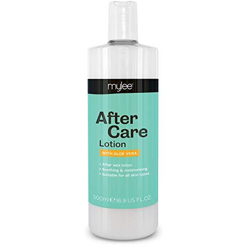 Mylee After Care 500ml post depilatoria pelle idratante succhietto aloe arricchito
