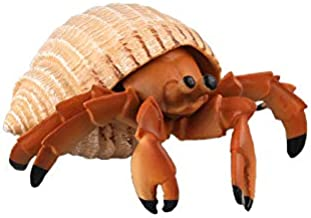 Warmtree Simulated Sea Life Animals Figurines Realistic Plastic Model Ocean Animals Action Figure for Kids' Collection Science Educational Toy (Hermit Crab)