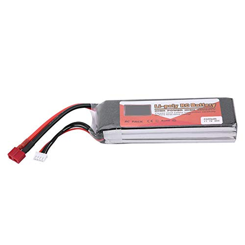 Batterie LiPo Rechargeable 2S 7.4V avec Prise en T pour Mod/èle RC VGEBY1 Batterie LiPo