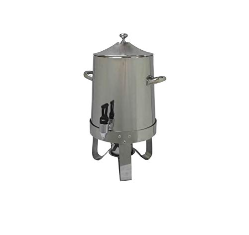 FixtureDisplays Dispenser, Coffee Urn, Large Stainless Steel 13037 13037