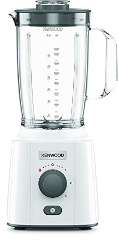 Ken Wood B Lend-x Fresh B LP41.A0 WH - Batidora de Vaso (650 W, 2 L de capacidad, función picado de hielo)