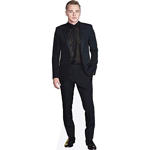 Celebrity Cutouts Ben Hardy (Black Outfit) Pappaufsteller lebensgross