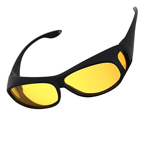 x loop night vision driving glasses Night Vision Glasses for Driving withUV Protection Driving Anti-Glare Rainy Safe Fashion Sunglasses for Men and Women