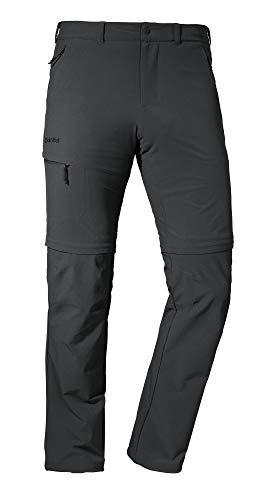 Schöffel Herren Pants Koper1 Zip Off flexible und bequeme Herren Hose, grau, 52