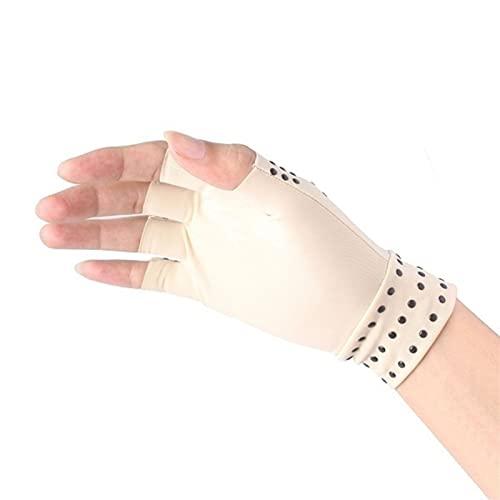 SianoS For Men and Women 1 par de Artritis de compresión Guantes Soporte de muñeca Conjuntos de algodón Alivio de Dolor de Alivio de la Mano Mujeres de Las Mujeres Terapia de la Pulsera Rehabi