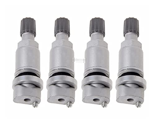 WANSHIDA QiQi Shop 4 xtpms Sistema de neumático de neumático Sensor de presión Stem Stem FIT para Peugeot 407 40 7SW Kit de Sistemas de Monitor de presión de neumáticos