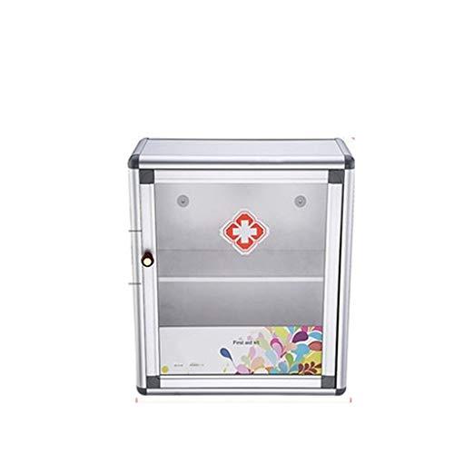 Yuanyuanliu Sitio de Medicina portátil montado en la Pared Caja de Almacenamiento de Pared Empresa de Seguridad Medicina Permanente Paquete médico Espacio Trompeta Familia (Size : 11X26X30cm)
