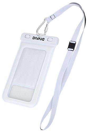 DIVAID防水ケーススマホ用iPhone防塵IP68フローティング[ホワイト]