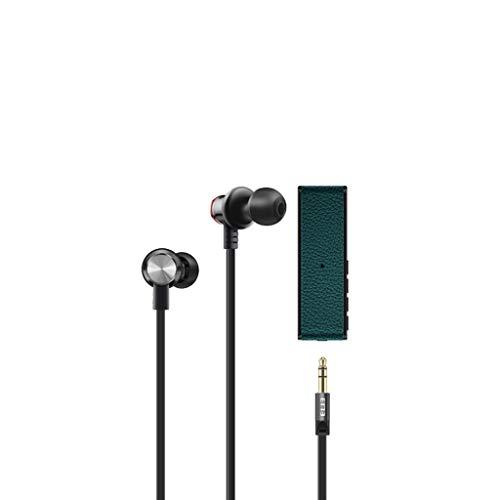Altsommer M4 3.5mm Kopfhörer W/Micr Bluetooth 4.2 Übertragung TF Kompatibel mit Telefon Huawei P30 Pro/ P20 Pro/ P20/ Mate 20 Pro/Pixel 3/2 /Moto Z/HTC U11 /MacBook Pro/Samsung Andriod