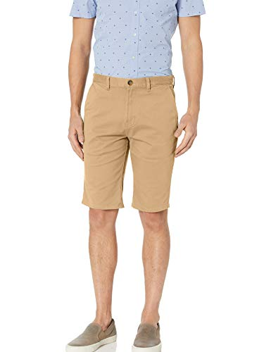 Element Men's Howland Classic Straight Flex FIT Walkshort, Desert Khaki, 30
