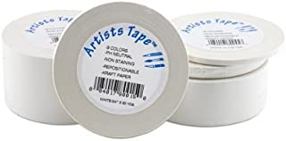 "White Artist Tape 2""x60 Yard Roll"
