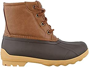 Sperry Boys Brown Tan Duck Boot