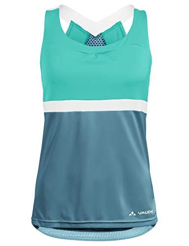 VAUDE Damen Trikot Women's Advanced Top, blue gray, 40, 41962