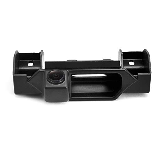 Kalakus Caméra de recul pour voiture étanche avec vision nocturne réversible et poignée de coffre intégrée pour Suzuki Grand Vitara SX4 (présents à partir de 2015)