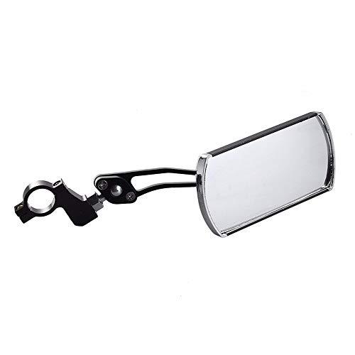 AILOVA Fahrrad-Rückspiegel, Fahrrad-Zubehör, Rückspiegel, Lenker, Flexibler Sicherheits-Rückspiegel, 360 Grad Reflektor, Falt-Jalousie für Fahrrad