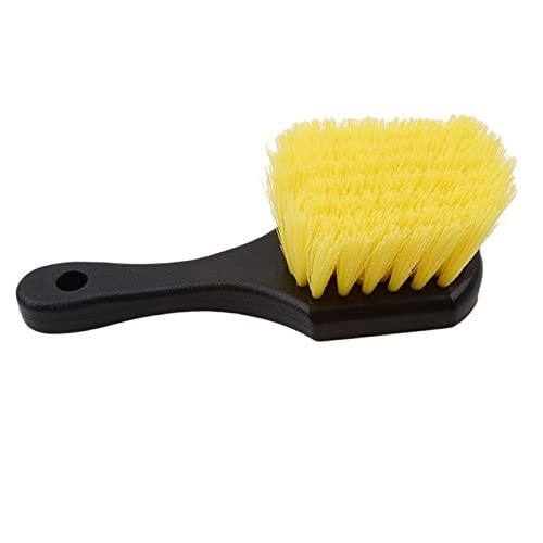 AWEAJVI Cepillo de Limpieza de neumáticos for Coches Hubo Multifuncional HUB Chiller Herramienta DE LASTA DE Coche (Color : Yellow)