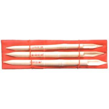 Bambusfeder Set, 3 Stück