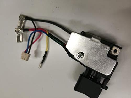 Corolado Piezas de repuesto, Interruptor 650652-3 para MAKITA BTW250RFE BTW251RFE DTW251RFE BTW250 DTW250 DTW251Z DTW251RMJ BTW251Z DTW251 BTW251 BTS130 6506523