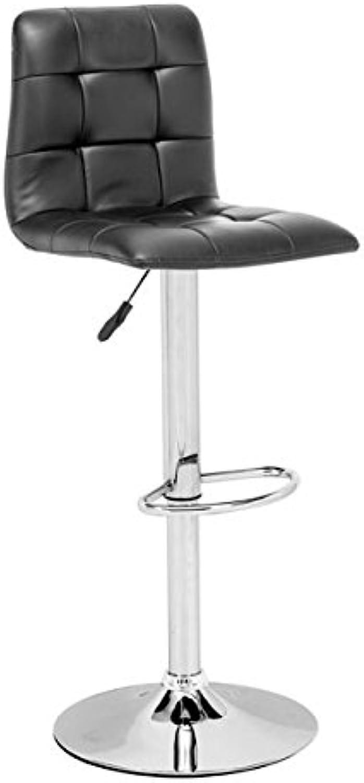 Zuo Oxygen Bar Chair, Black