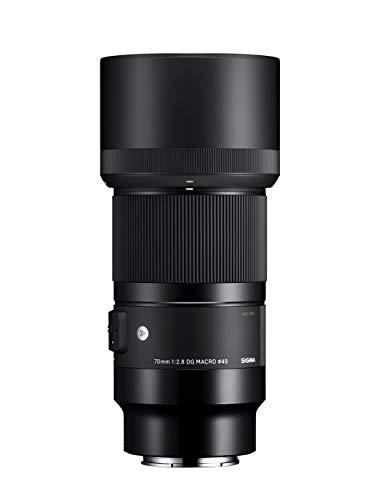 Sigma 271965 Obiettivo 70 mm-F/2.8 A -AF DG Macro, Attacco Sony E-Mount, Nero