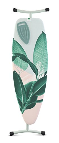 Brabantia Mesa Tabla de Planchar, Acero, Tropical Leaves, D