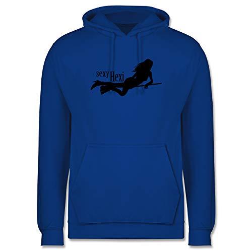 Shirtracer Halloween - sexy Hexy - 3XL - Royalblau JH001 - Herren Hoodie und Kapuzenpullover für Männer
