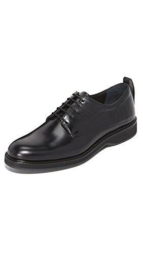 WANT Les Essentiels Men's Montoro Derby Black/Black 41 M