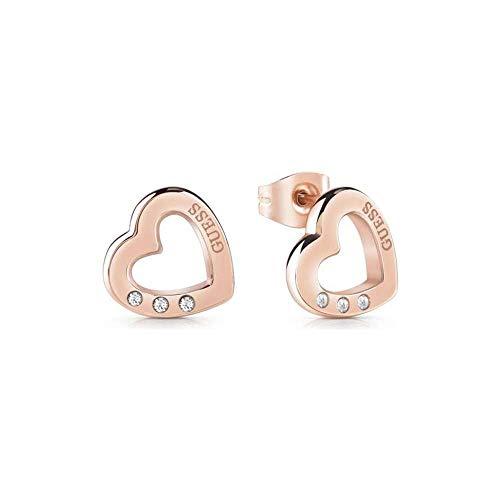 Guess orecchini da donna in Acciaio inossidabile con Zirconia cubica