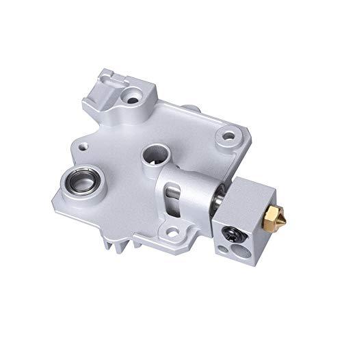MZHE Impresora 3D Asciende piezas Titan Aero disipador de aluminio de refrigeración Rango bloque V6 Titan Extrusora corto Hotend Kit 1,75 mm Radiador Adecuado para la mayoría de las impresoras, por lo