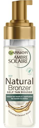 Garnier Natural Bronzer Self Tan Mousse (Coconut), 300 g