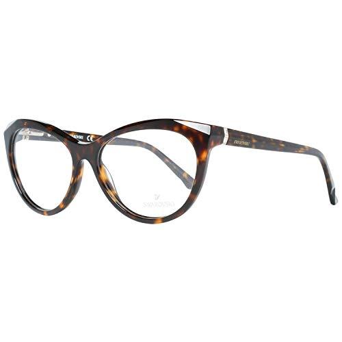 Swarovski SK5192 56052 Brillengestelle SK5192 052 Cateye Brillengestelle 56, Braun