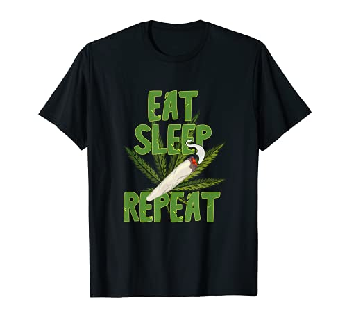 420 Bong de hierba Marihuana Joint para hombres y mujeres CBD THC Camiseta