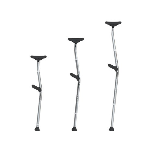 Mobilges Universal - Pair of 2 crutches (Right & Left)