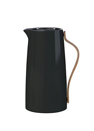 Stelton Emma Kaffee 1.2 L. -schwarz Isolierkanne, Kunststoff, 15.5 x 13 x 26 cm